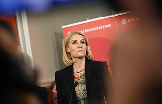 Премьер-министр Дании Хелле Торнинг-Шмитт