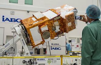 Спутник Sentinel-2A