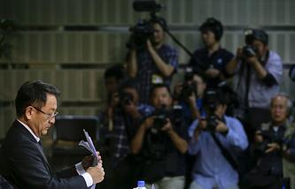 Президент концерта Toyota Акио Тойода