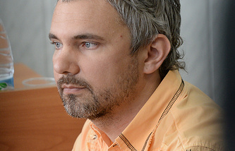 Дмитрий Лошагин во время оглашения приговора в Октябрьском районном суде