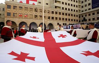 Церемония инаугурации президента Грузии Георгия Маргвелашвили в Тбилиси