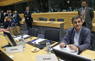Министр финансов Греции Эвклидис Цокалотос
