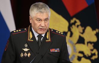 Министр внутренних дел РФ Владимир Колокольцев