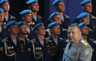 Командующий ВДВ РФ Владимир Шаманов