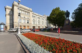Здание Санкт-Петербургской государственной консерватории