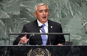 Президент Гватемалы Отто Перес Молина