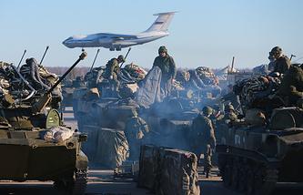 Внеочередная проверка боевой готовности Воздушно-десантных войск в марте 2015 года