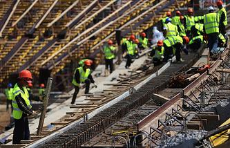"Строительства стадиона ""Мордовия Арена"""