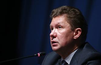 """Председатель правления компании """"Газпром"""" Алексей Миллер"""