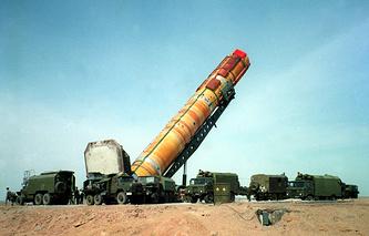 """Ракета """"Днепр"""" (по классификации NATO - """"Сатана"""")"""