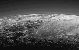 Закат на Плутоне