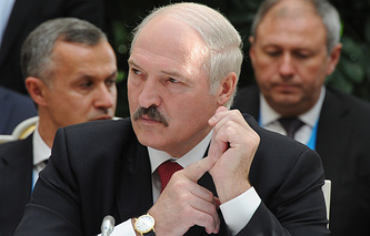Президент Республики Белоруссия Александр Лукашенко