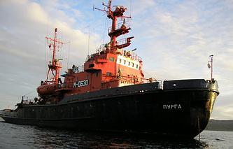 """Спасательное судно """"Пурга"""""""