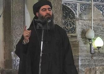 Главарь ИГ Абу Бакр аль-Багдади