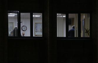 Окна рабочего кабинета Юрия Караулова в здании администрации Красногорска