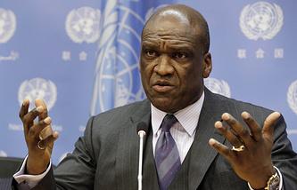 Экс-постпред Антигуа и Барбуды при ООН Джон Эш
