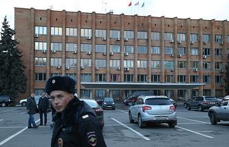Здание администрации Красногорска