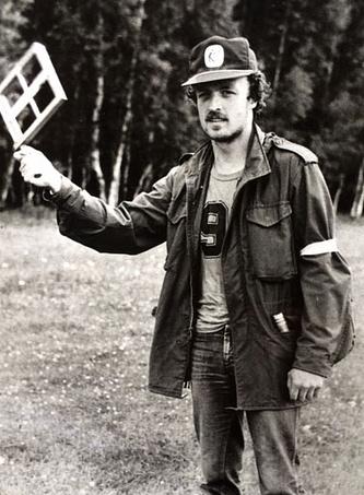 Виктор Гусев в период работы в ТАССе