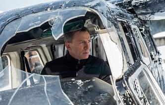 "Кадр из фильма ""007:Спектр"""