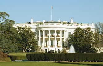 США. Вашингтон. Белый Дом.Архив