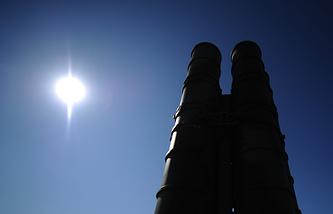 Пусковая установка зенитной ракетной системы комплекса С-400