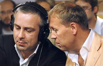 Дмитрий Ковтун и Андрей Луговой, 2007 год