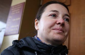 Наталья Тупякова, претендующая на усыновление годовалого Матвея Захаренко