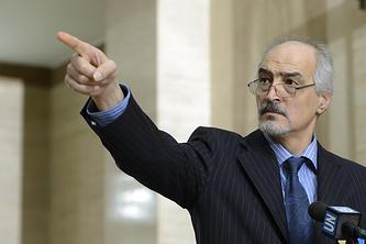 Глава официального Дамаска на переговорах в Женеве Башар аль-Джаафари
