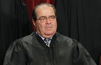 Член Верховного суда США Антонин Скалиа