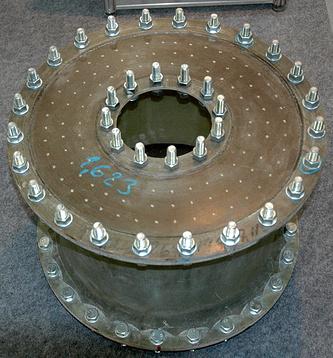 Виброизолирующая соединительная муфта, спроектированная в КГНЦ