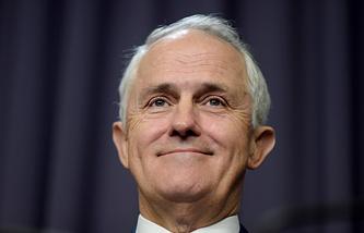 Премьер-министр Австралии Малколм Тернбулл