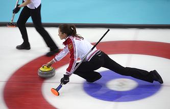 Член сборной России по керлингу Анна Сидорова