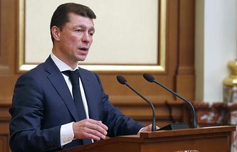 Министр труда и социальной защиты РФ Максим Топилин