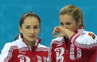 Анна Сидорова и Маргарита Фомина