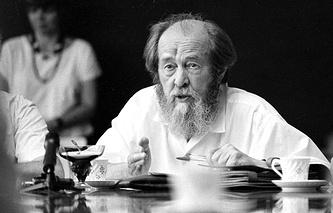 Александр Солженицын, 1994 год
