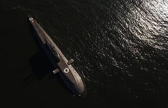 """Ходовые испытания в море субмарины """"Великий Новгород"""" проекта 636.3"""