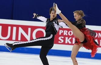 Иван Букин и Александра Степанова