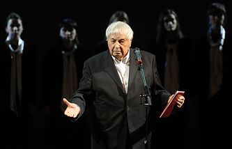 Юрий Любимов, 2011 год