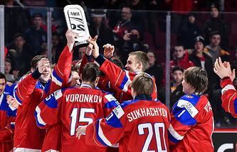 Российские хоккеисты ‒ бронзовые призеры МЧМ-2017