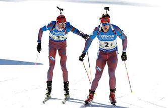 Матвей Елисеев (справа) и Антон Бабиков