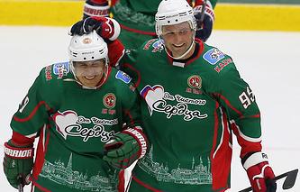 Рустам Минниханов и Алексей Морозов (слева направо)