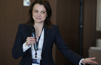 Заместитель руководителя Аналитического центра при Правительстве РФ Светлана Ганеева