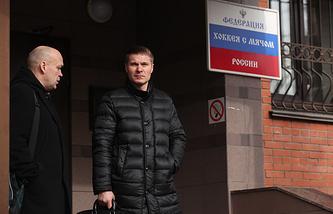 Игорь Гапанович и Дмитрий Минин (слева направо)