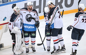 "Хоккеисты ""Медвешчака"""