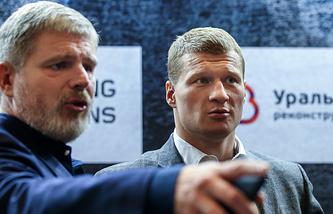 Андрей Рябинский и Александр Поветкин