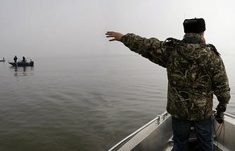 Рейд по пресечению браконьерства в Азовском море