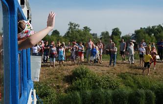 Отправка детей в летний лагерь, Ивановская область
