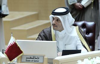 Глава МИД Катара Мухаммед бен Абдель Рахман Аль Тани