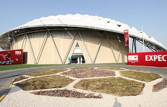 Стадион ЧМ-2022 в Дохе