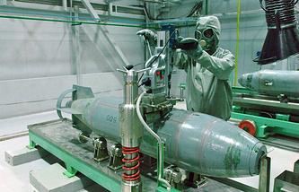 Дезактивация авиационных химических боеприпасов, 2006 год